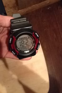 round black and red digital watch Port Colborne, L3K 5V3