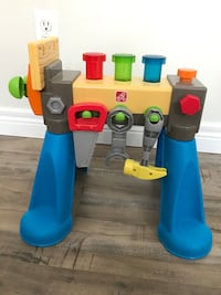 Baby's tool bench