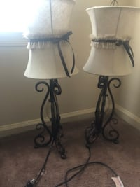 2 Decorative lamps: NEW Portsmouth, 23702