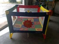 Square graco pack and play.  Riverton, 84065
