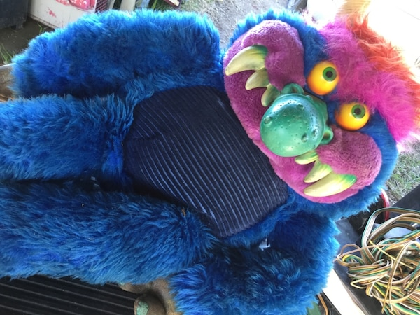 My Pet Monster Original From 1986 Big Stuff Animal Selling On Ebay