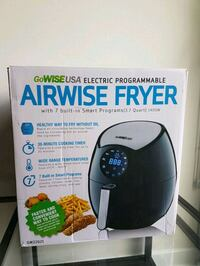 Air Fryer- GoWISE USA 3.7-Quart 7-in-1 Programmabl Toronto, M4S 1C1