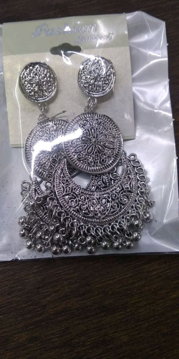 New earings. Big sized. Jhumka e95732d3-def1-4a37-8b78-cd4e98ee999d