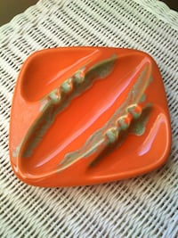 Large Ceramic Drip Glaze Ashtray Springfield