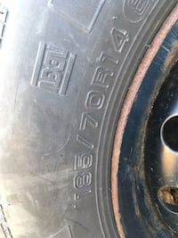 Tires from an older car...still good for more use. 185/70R/14  Montréal, H2P 2K4