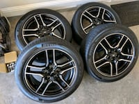 "2018 Mustang GT 18"" wheels/tires brand new takeoff Houston, 77070"