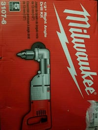 Brand new milwaukee right angle drill  Mississauga, L4W 3V5
