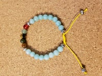 blue and red beaded bracelet Long Beach, 11561