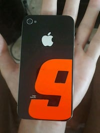 iPhone 4s negro  6416 km