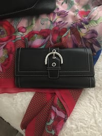 Large leather Coach bag & wallet in great condition  Vacaville, 95687