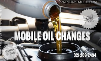 oil change - Mobile Service - Tune ups - Fender Rolling