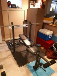 Bench Press + Weight Accessories  Toronto, M9N 2J3