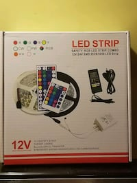 New in Box LED strip with remote multi  Combo  Johnstown, 12095
