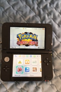 Nintendo 3DS XL (Blue) - with case, 3-game compartment, and charger