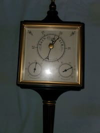 Clocks, barometers and thermostats