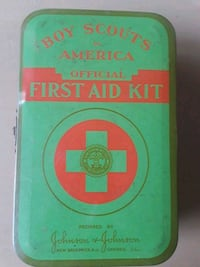 Vintage first aid kit with contents Lilburn, 30047