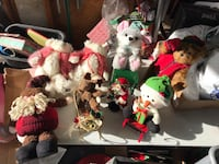 FOR SALE: 8 Christmas Stuffed Animals (Excellent Condition) Albuquerque, 87121