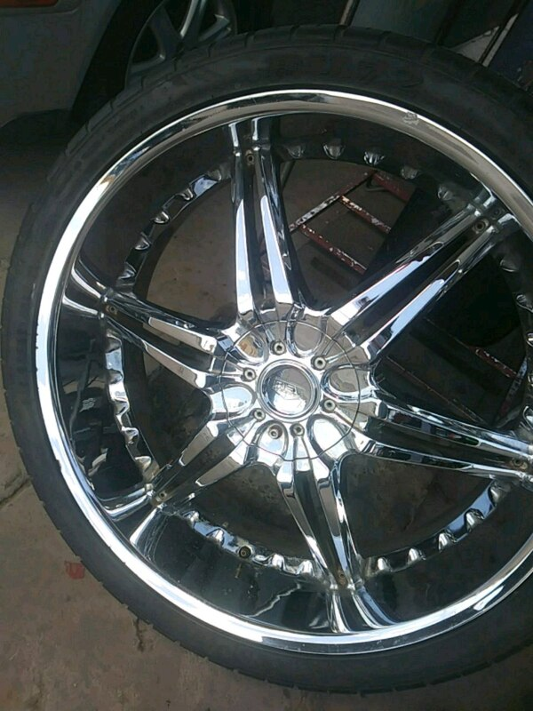Used Tires Phoenix >> 4 New Rims With 4 Used Tires 26