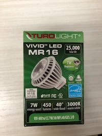 LED - MR16 - 3000k - 7W - warm white Vaughan, L4K 3R8