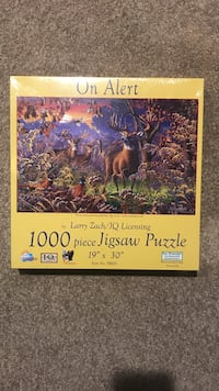 Jigsaw puzzle deer picture Red Wing, 55066