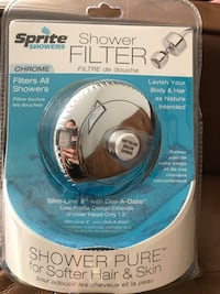 Shower filter  Burlington, L7M 4Z5