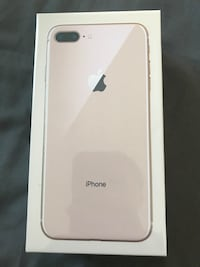 Unlocked Sealed Apple iPhone 8 Plus 64 GB gorgeous with Apple Care+ to 2020 Toronto, M3K