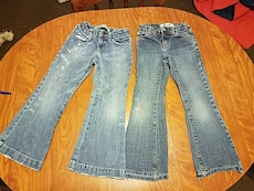 2 pair girls Gap jeans. Size 6