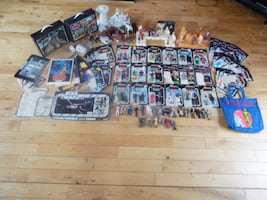 Star Wars Collection Figures Displays Cases Cardbacks