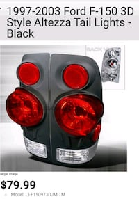 1997-2003 Ford F-150 tail lights