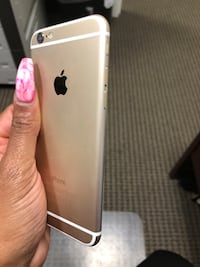 iPhone 6 Rose Gold. I had AT&T the phone is paid off & can be unlocked. I kept a case on it so it barely have an scratches but need charger  Upper Marlboro, 20774