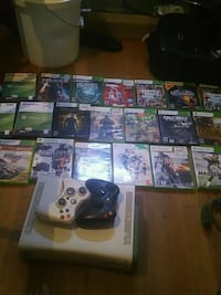 Xbox360 console and 20 games 2 controllers Upper Marlboro