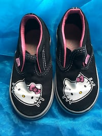 pair of black-and-pink Hello Kitty sneakers Los Angeles, 90022