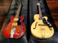 Beautiful vintage guitars