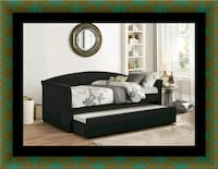 Daybed black with mattress East Riverdale, 20737