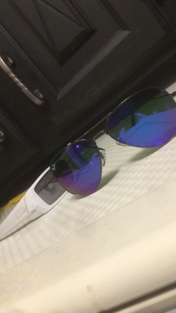 Ray Ban and Oakley sun glasses