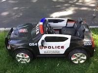 Electric police car Roselle, 07203