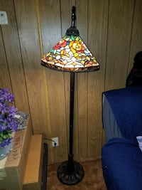 Stained Glass Floor Lamp Riverside