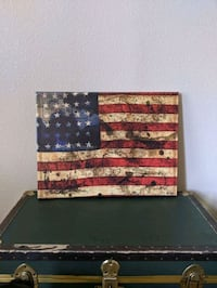 American Flag Art Canvas El Paso, 79938