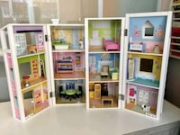 white and brown wooden dollhouse 3727 km
