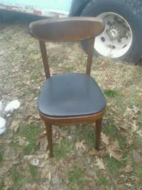Oak restaurant chairs all need work. $8 ea Hyde Park, 12477
