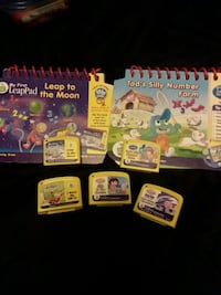 My first Leap frog 7 piece lot Athol, 01331