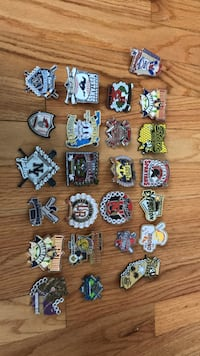 Pins from Cooperstown Brookfield, 60513