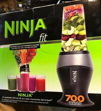 Ninja fit blender 700watts  Port Coquitlam, V3E 3G7