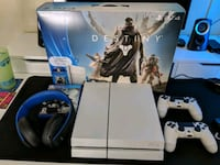 white Sony PS4 console with controller Anaheim, 92801