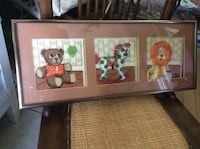 Vintage framed needlepoint Kitchener, N2M 1L5