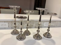 5 Silver Candle Holders Havertown, 19083