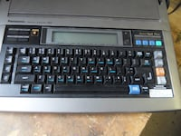 Panasonic word processing electric typewriter Langdon