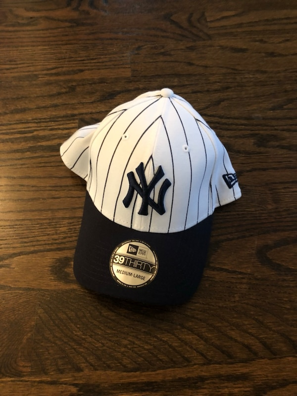 Used NY YANKEES Pinstripe Baseball Hat for sale in Atlanta - letgo 6b7f38e273c