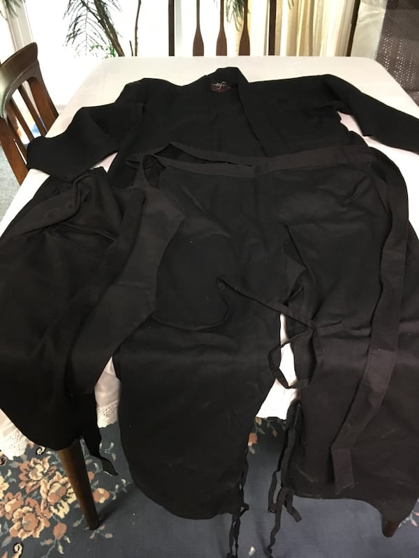 Ninja Uniform/ Outfit - size small 1
