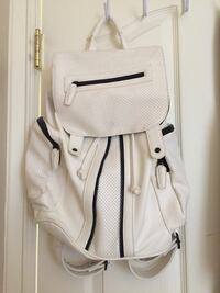 Topshop white backpack Vancouver, V5R 3C4